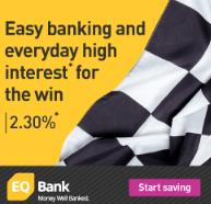 EQ Bank High Interest Savings Account