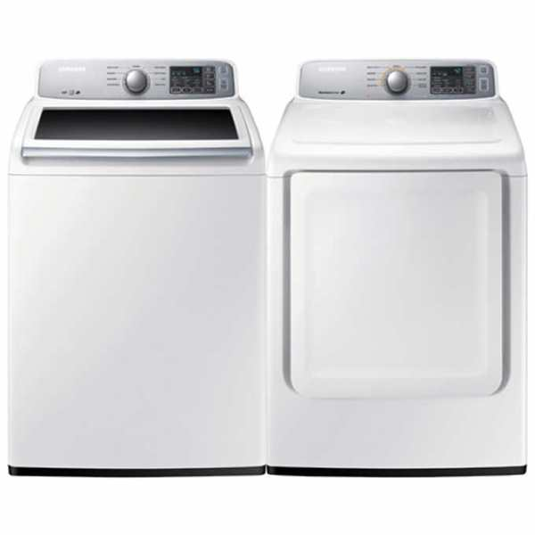 45H7000E Samsung 2 Piece Laundry SET - 5.2 cu.ft Washer 7.5 cu.ft dryer