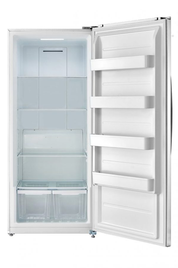 DUF206E1WDD- 21 cu.ft Upright Freezer/Fridge (Convertible) Frost FREE- White