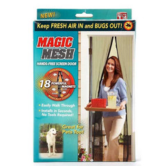 Magic Mesh - Hands-Free Screen Door