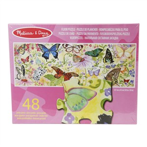 butterfly bliss floor puzzle - 48 piece