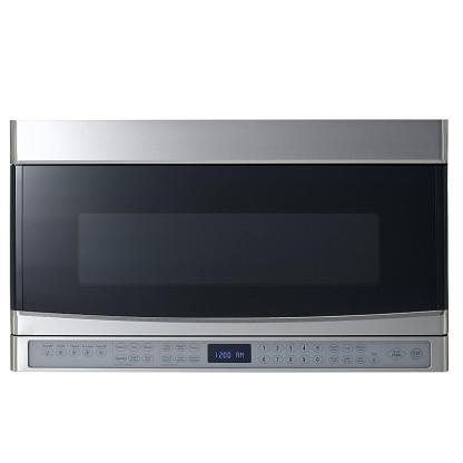 "30"" Over The Range Microwave 2.0 Cu.Ft - 600CFM - With Reversible Door - Stainless Steel"