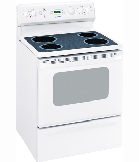 MCBS585DRWW Moffat 30 Free Standing Electric Range Smooth Top White
