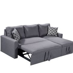 Storage Sectional Sofa Bed Pottery Barn With Chaise Zara 3 In 1 Canadian