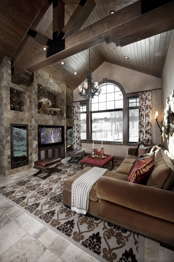 Rustic Design Ideas - Canadian Log Homes