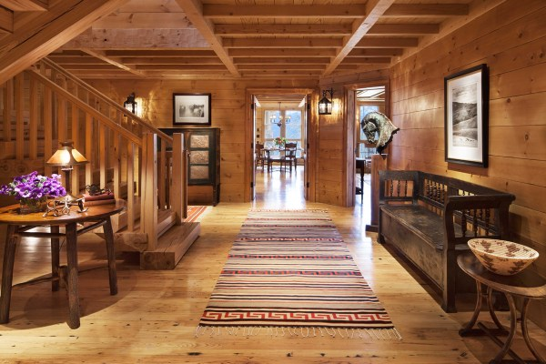 Rustic Design Ideas Log Homes Farmhouse Rustic Home
