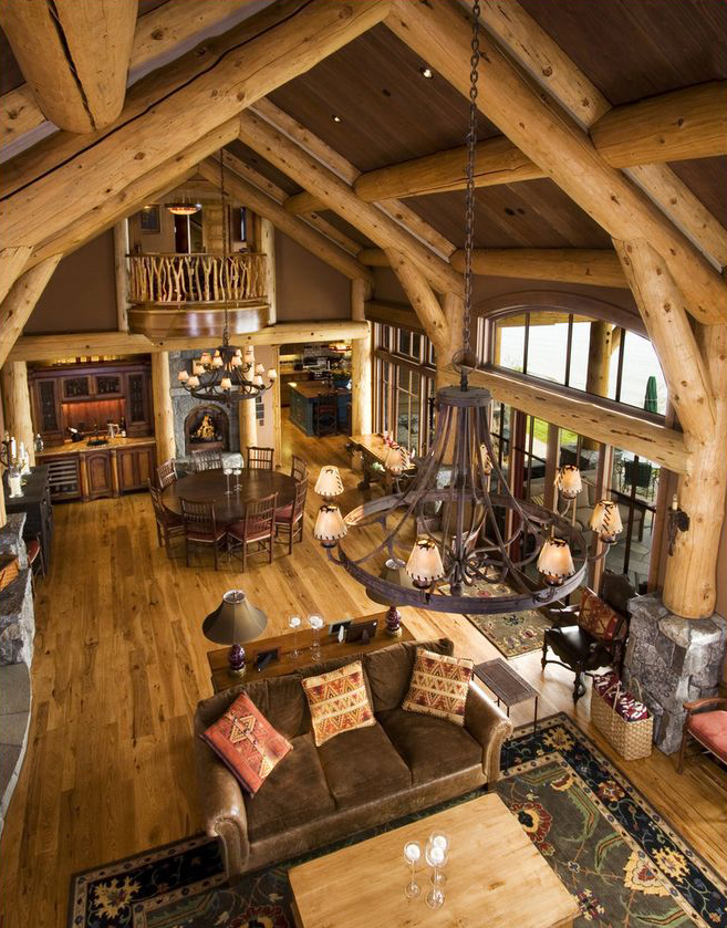 Rustic Design Ideas Canadian Log Homes