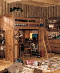 Kids Cabin Theme Bedrooms & Rustic Decor