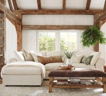 Pottery Barn Sectional Sofas with Chaise