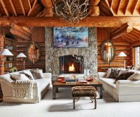 Rustic Interior Design Ideas Enchanting Rustic Chic Home ...