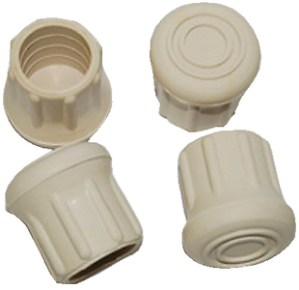 1IN RUBBER CHAIR TIPS 4/PK
