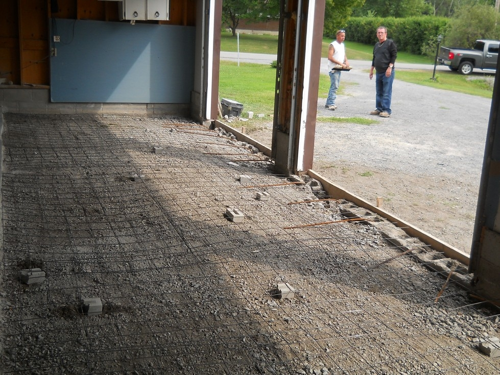 Concrete Garage Floor Repair and Replacement  Canadian
