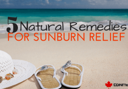 Natural Sunburn Relief via @CDNMomBlog