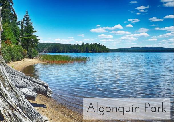 Algonquin Park via Canadian Mom Blog