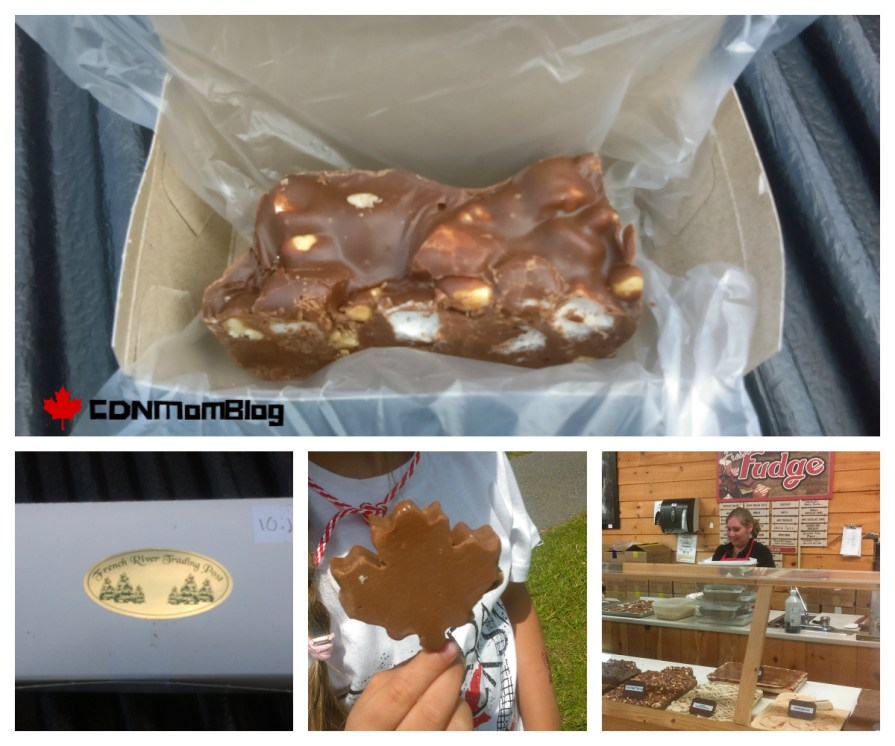 The Fudge Factory at the French River Trading Post via CDNMomBlog
