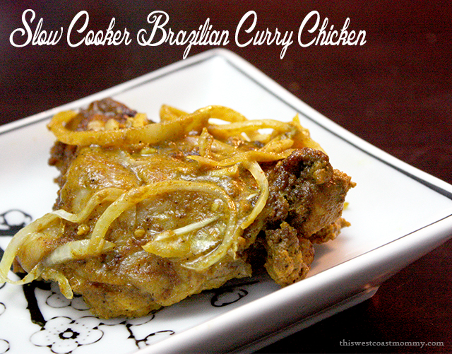 Brazilian Curry Chicken - Easy Slow Cooker Meals