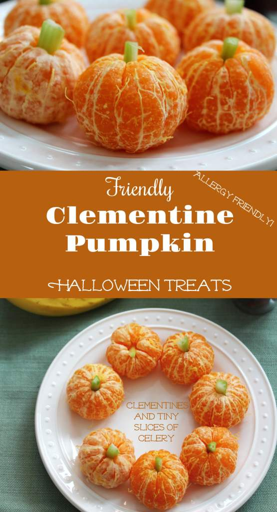 Clementine Pumpkins from 30 Halloween Food & Treats Kids Will LOVE