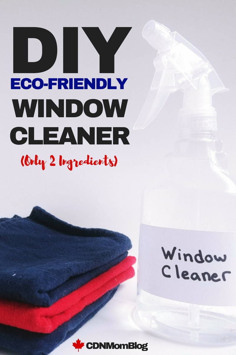 Easy homemade window and glass cleaner!