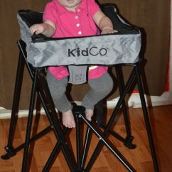 High Chairs Canada Reviews Stacking Resin Dinepod Portable Chair Canadian Mom
