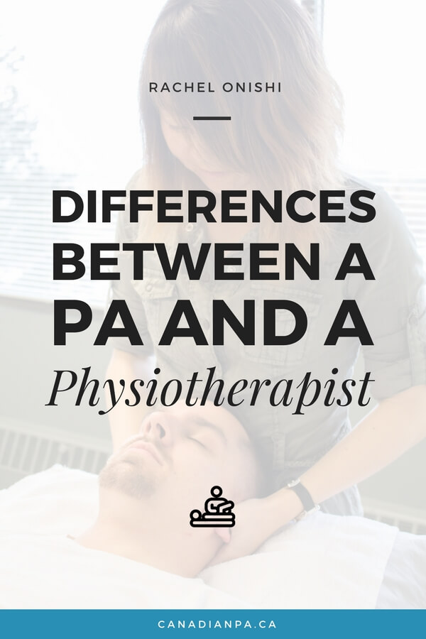 Differences between a Physician Assistant and Physiotherapist