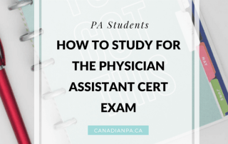Physician Assistant Certification PANCE PANRE