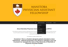 Manitoba Physician Assistant Website