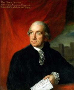 Henry Laurens portrait. Painted while he was imprisoned in the London Tower