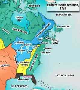 1774 Quebec Act boundaries
