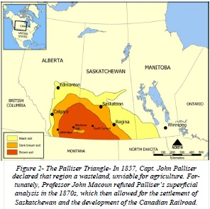 H03- Palliser triangle map