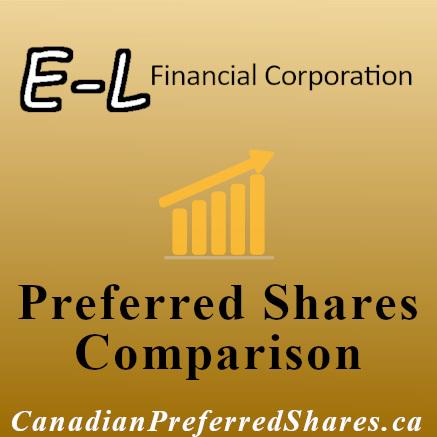 Rank E-L Financial Preferreds - www.canadianpreferredshares.ca