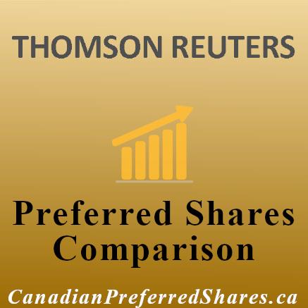 Rank Thomson Reuters Preferreds https://canadianpreferredshares.ca