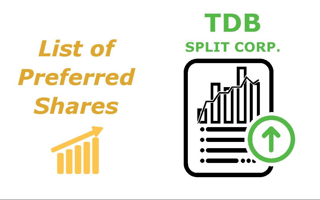 List of TDb Split Corp Preferred Shares