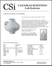 Alsident 100 System Blower - 217 cfm