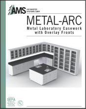 AMS Metal Laboratory Casework Overlay Fronts Catalog