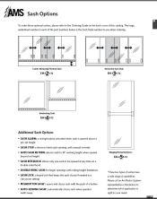 Catalog pages Sash Options