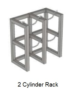 2 cylinder rack