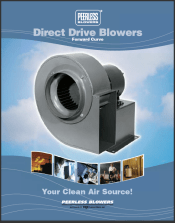 Peerless Blowers Direct Drive Blowers-forward-curve