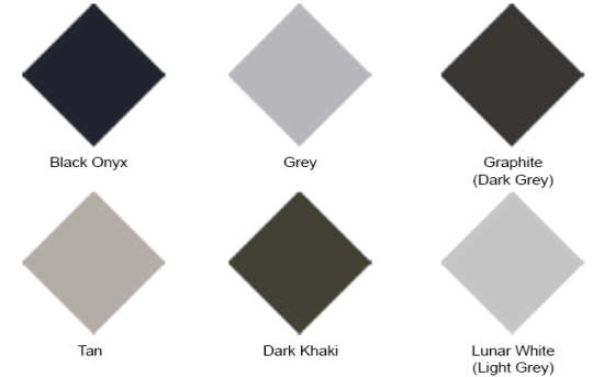 Durcon Epoxy Colours UPDATED