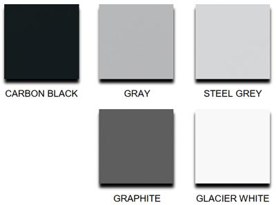 Solid Phenolic - lab countertop colours