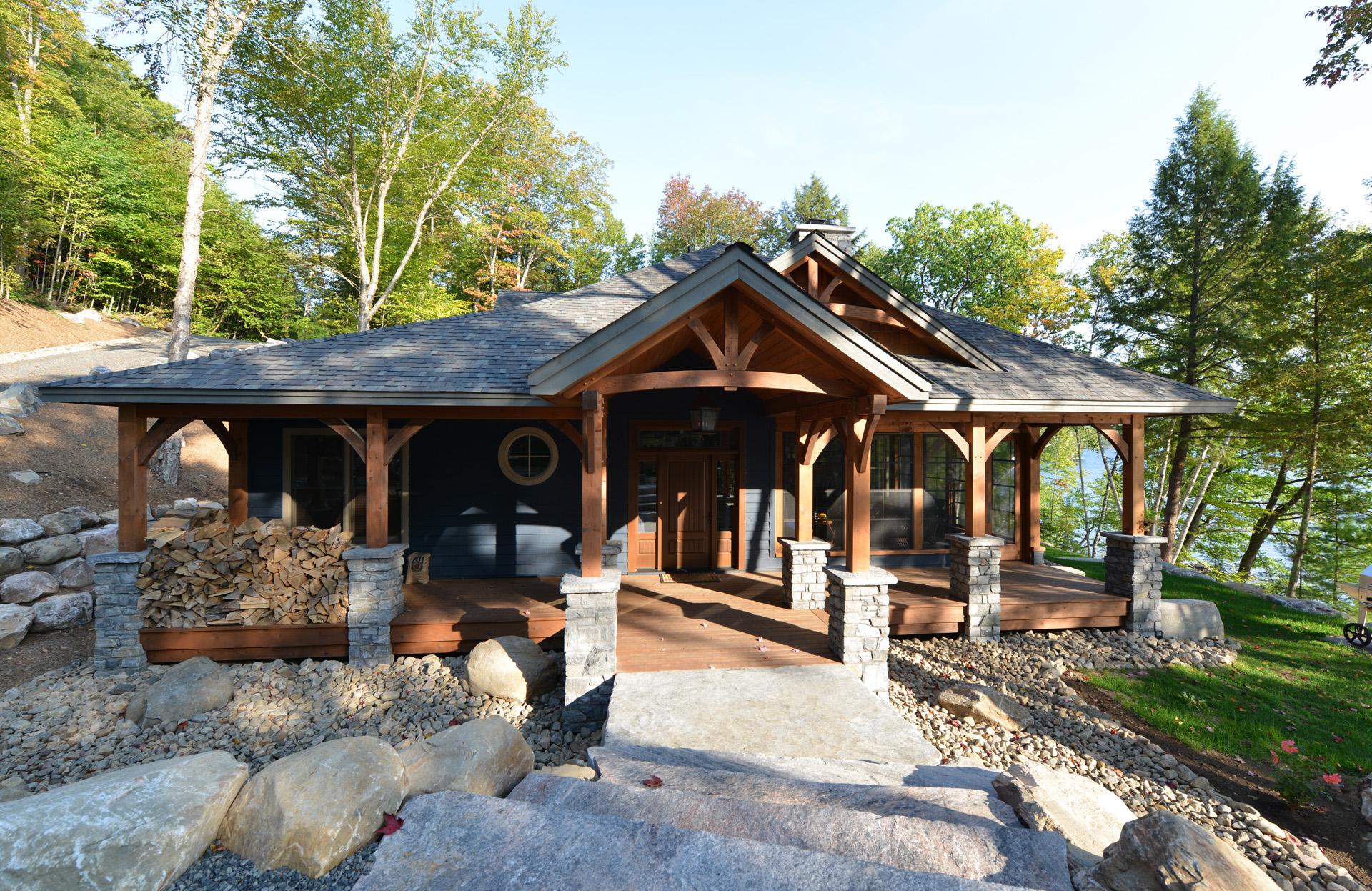 Cottage  Cabin Timber Frames