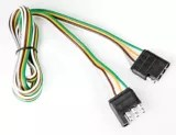trailer connector define point to wiring diagram wires connectors adapters canadian tire reese towpower 4 way flat loop vehicle ends