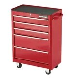 Mastercraft 5-Drawer Cabinet, Deep Red, 24-in | Canadian Tire