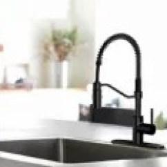 Kitchen Sinks And Faucets Corner Hutch Canadian Tire Danze Jasper 1 Handle Pull Down Faucet Matte Black
