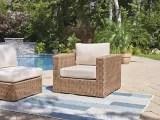 canvas tofino collection sectional patio armchair