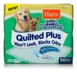 tapis d education de proprete matelasse pour les chiens hartz home protection paq 50