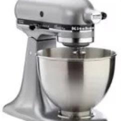 Kitchen Aid Classic Plus Cheap White Cabinets Kitchenaid Tilt Head Stand Mixer Silver Metallic Canadian Tire