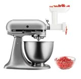 kitchen aid classic plus modern faucets kitchenaid tilt head stand mixer with food grinder attachment silver