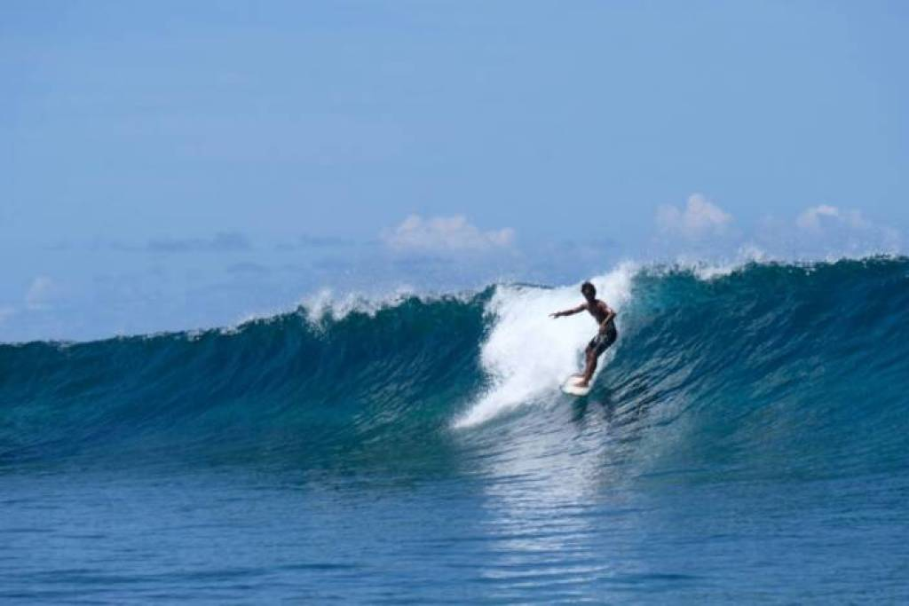 The 2024 Olympic Games surfing competition will be held off the west coast of Tahiti Iti. JIM BYERS PHOTO