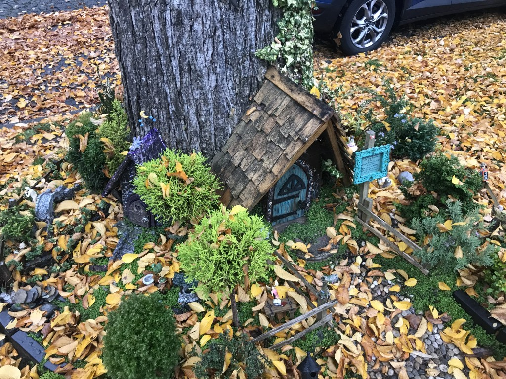 A fairy house in Victoria. B.C. Jim Byers Photo