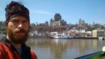 L'entrée à Québec
